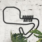 Brands Hatch Motor Racing Circuit Wall Art in Situ