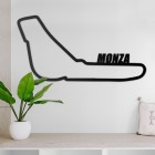Monza Race Track Wall Art in Situ in the Sitting Room