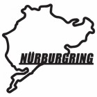 Nürburgring Race Track Finished in Black