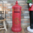 """Reindeer Express"" Red North Pole Post Box in a House"