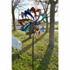 Rainbow Flower Wind Spinner