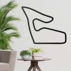 Red Bull Ring Motor Circuit Wall Art in Full