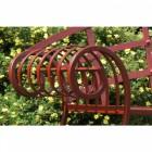 """Hampton Bridge"" Iron ""Chaise"" bench"