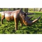 """""""Remy"""" Rhinoceros Garden Sculpture"""