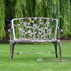 Rose Design Garden Bench