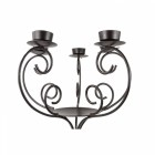 Rowan House Silver Vintage Candle stand