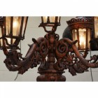 Royal Colonial Opulence Lady Lamp Post