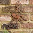 Rustic Bee & Heart Wall Art in Situ