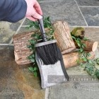 Rustic Brush & Pan Set to Scale