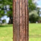 Rustic Copper Finish Lighting Column