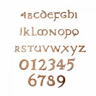 Rustic Copper Numbers & Letters
