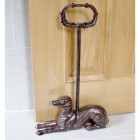 Egyptian Style Door Porter in Rustic