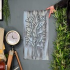 Rustic Tree Wall Art to Scale