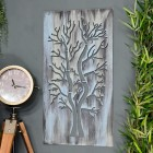 Rustic Tree Wall Art in Situ in the Home