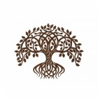 Rustic Twisting Tree Wall Art