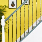 """""""Alessi"""" Double Fine Twist Stainless Steel Stair Spindle"""