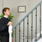 Black Iron Stair Spindles On Staircase Scale