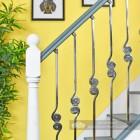 """""""Allegro"""" Duet Swirl Stair Spindle"""