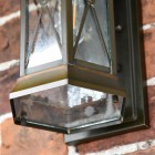 Glass Bottom on the Wall Lantern