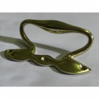 Rennie Macintosh Brass Sash Handle