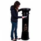 """Onyx Jewel"" GR Post Box"
