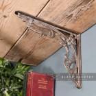 """Victorian Amalina"" Wall Bracket Created From Cast Iron"