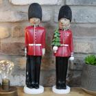 Royal Christmas Bear Guard Ornaments in Situ