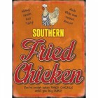 Southern Fried Chicken Metal Sign