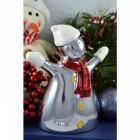 Snowman Aluminium Christmas Decoration
