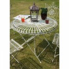 """""""Amorettia"""" Luncheon table and chairs"""