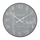 Shabby Chic Grey Wall Clock