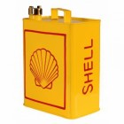 """""""Shell"""" Petrol Can Finished in a Yellow Finish"""