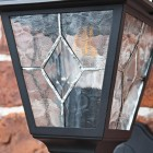 Close-up of the Leaded Glass on the Lantern