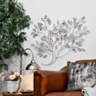 Silver Bush Wall Art in Situ in a Modern Sitting Room