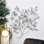 Bush Wall Art in a Silver Finish
