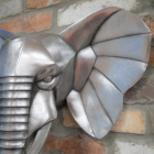 Close-up of the Ear of the Elephant