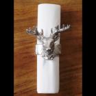 Silver Stag Napkin Holder