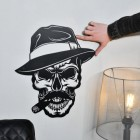 Gangster Skull with hand for scale