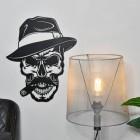 Gangster Skull in Situ