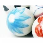 Handpainted ceramic balls