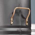 Close-up of the Brass Carry Handles