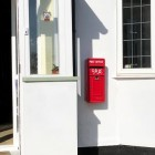 King George Red Post Box on Wall - Customer Photograph