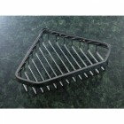 Small Shaped Chrome Corner Soap Basket