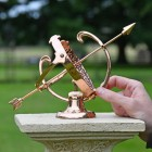 Polished Solid Copper Armillary to Scale