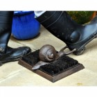 Rustic Snail Boot Brush and Boot Jack