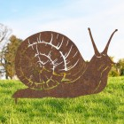 Rustic Snail Silhouette