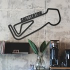 Snetterton Race Track Wall Art in Situ