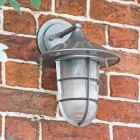 """""""South Shore"""" Top Fix Wall Lantern in Situ"""