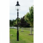 """Belgravia"" Extra Large Lamp Post & Lantern in Situ"