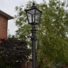 Victorian Extra Large Lantern & Lamp Post Set